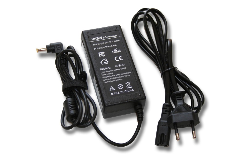 19V, 3.42 A, 65W notebook AC adapter 5.5 x 2.5mm