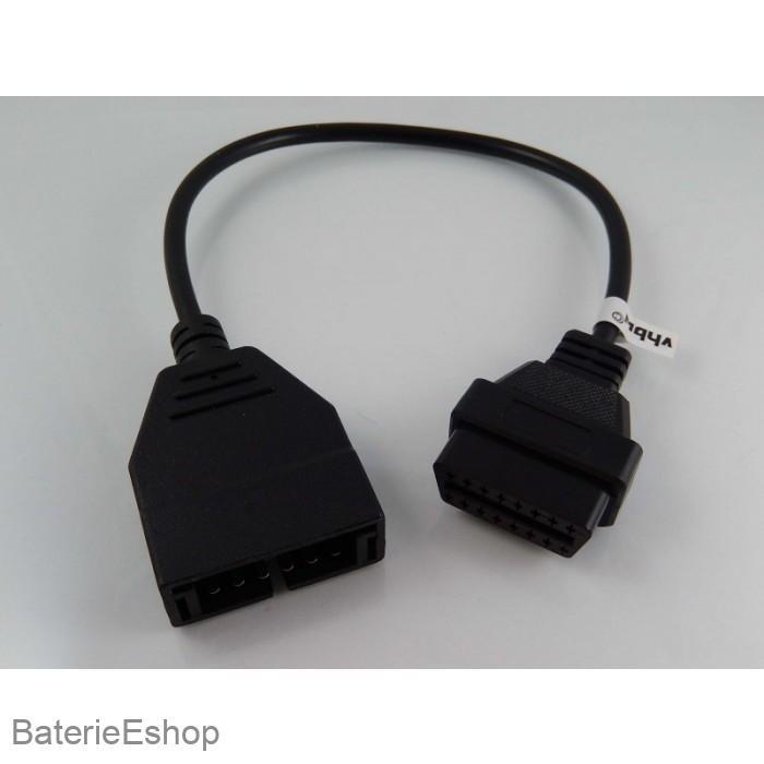 Adapter OBD1 GM a Chevrolet 12pin naf OBD2 Standard 16Pin