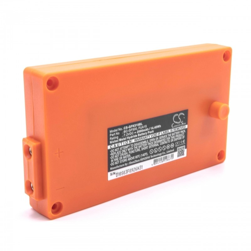 Bateria pre Gross Funk Crane Remote Control GF500 orange, 2000mAh