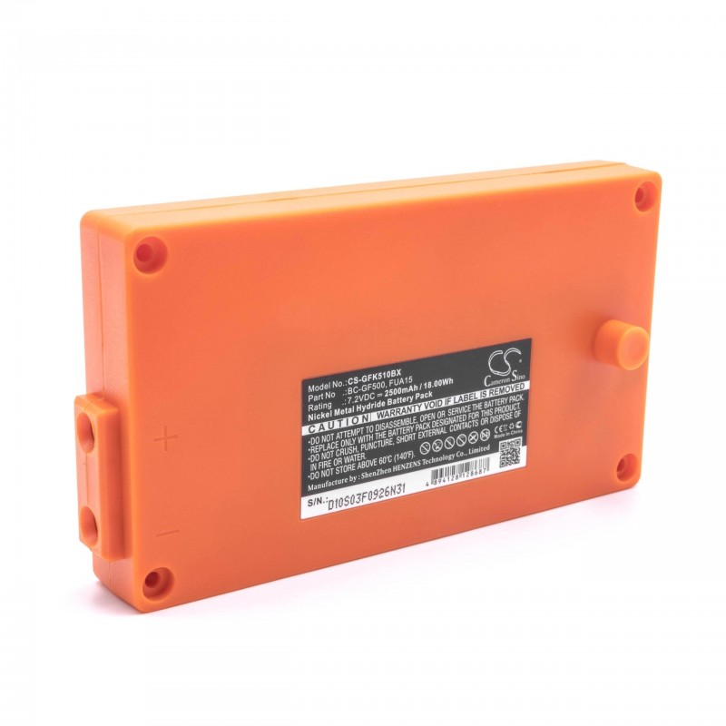 Bateria pre Gross Funk Crane Remote Control GF500 orange, 2500mAh